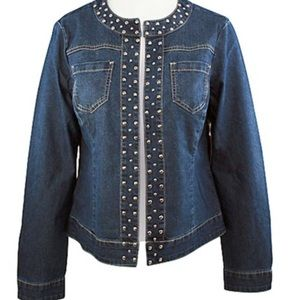 Baccinia Denim Jacket Metal Studs |Great Condition